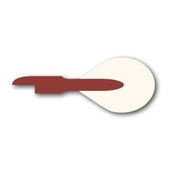 Końcówka klucza stroicielskiego  Ø 7,25 x 70 mm