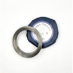 Drut stalowy nr 12,5  Ø 0,750 mm  /500g, Typ 0 Paulello