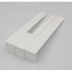 Nakładki klawiaturowe  białe mat 50 mm52 szt.